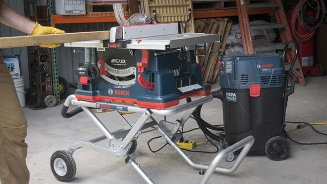 Bosch 4000 09 Worksite Table Saw Review