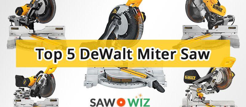 DeWalt Miter Saw