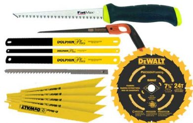 The Different Types Of Saws